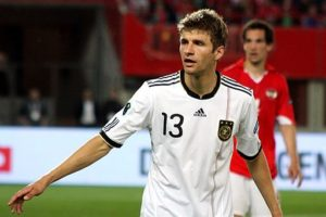 Thomas Muller gets to play for both Bayern Munich and Germany.