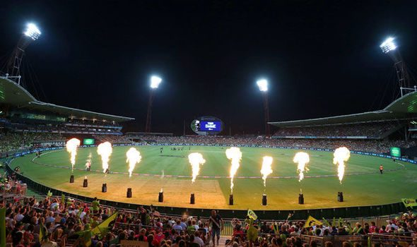 Big Bash betting is available at Betfair.