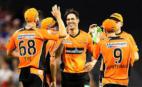 Mitchell Johnson won the BBL in his first season for the Scorchers.