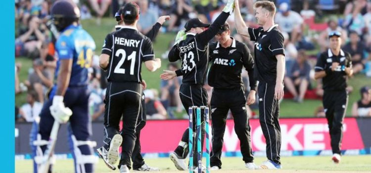 The ODI team of New Zealand.