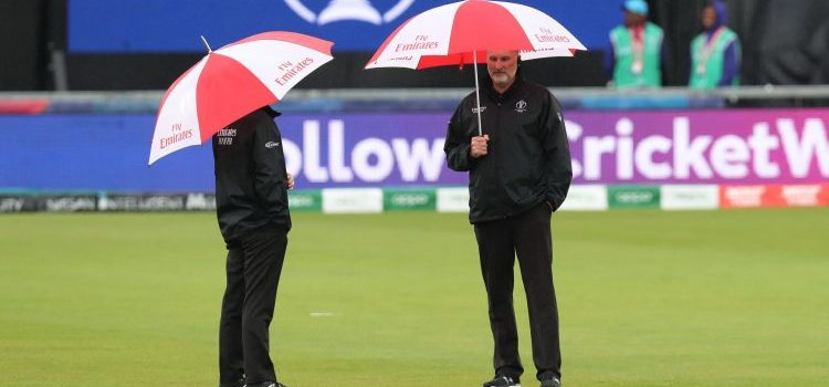 There's been plenty of rain at the Cricket World Cup.