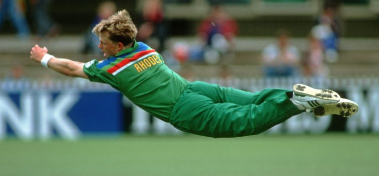 jonty Rhodes set the standard when it came to fielding