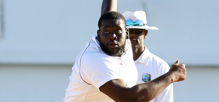 Rahkeem Cornwall is the heaviest Test cricketer ever.