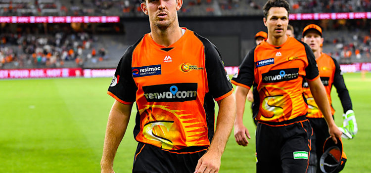 Mitchell Marsh, skipper of the Perth Scorchers.